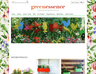 greenessencestore.com screenshot