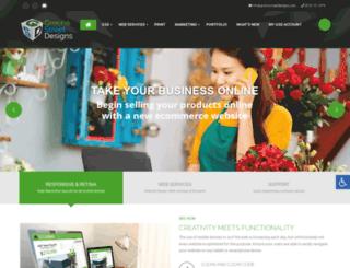 greenestreetdesigns.com screenshot
