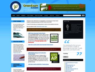 greenexamacademy.com screenshot