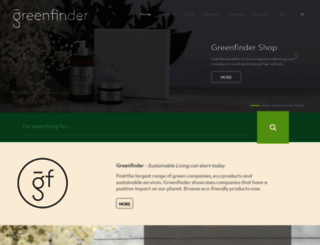greenfinder.com.au screenshot