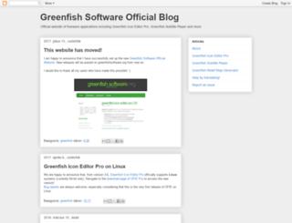 greenfishsoftware.blogspot.hu screenshot