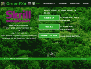 greenfxgarden.com screenshot