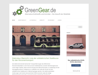 greengear.de screenshot
