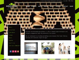 greenhatworkshop.com screenshot