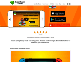 greenheartgames.com screenshot