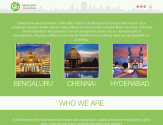 greenhomegroup.com screenshot