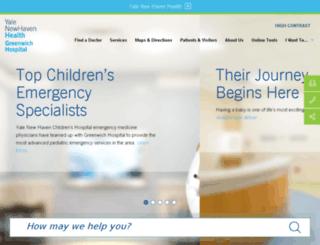 greenhosp.org screenshot