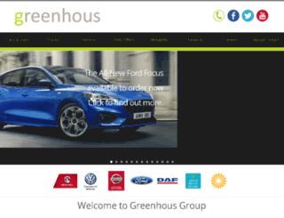greenhousgroup.co.uk screenshot