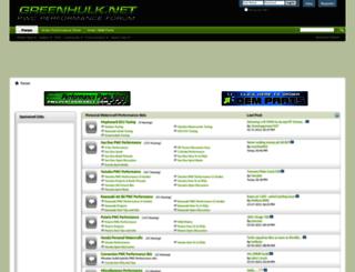 greenhulk.net screenshot