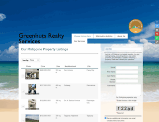 greenhuts.net screenshot