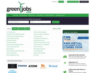 greenjobsonline.co.uk screenshot