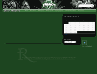 greenknights.rmhsvt.org screenshot