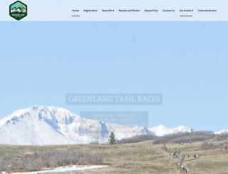 greenland50k.com screenshot