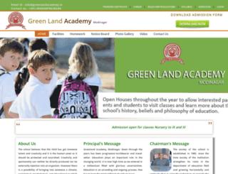 greenlandacademy.in screenshot