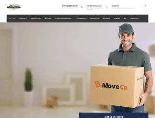 greenlandmoving.com screenshot