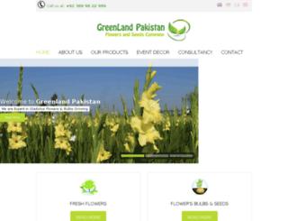 greenlandpakistan.com screenshot