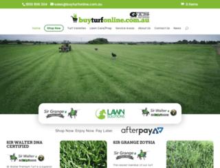 greenlawnturf.com.au screenshot