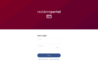 greenleafmanagement.residentportal.com screenshot