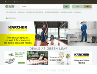 greenleafpacific.com screenshot