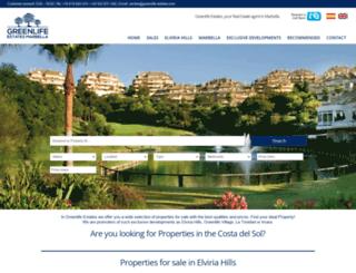 greenlife-estates.com screenshot