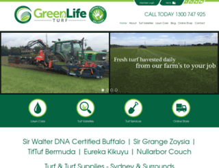 greenlifeturf.com.au screenshot