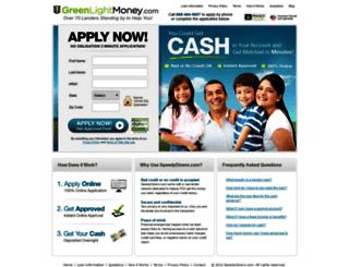 greenlightmoney.com screenshot