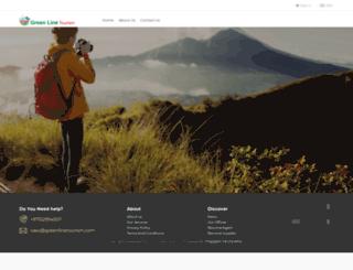 greenlinetourism.com screenshot