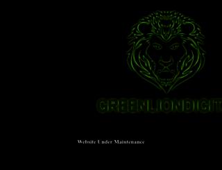 greenliondigital.net screenshot