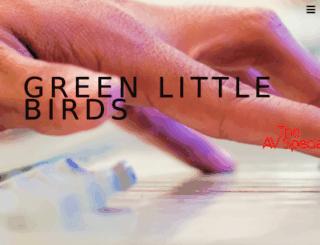 greenlittlebirds.co.uk screenshot