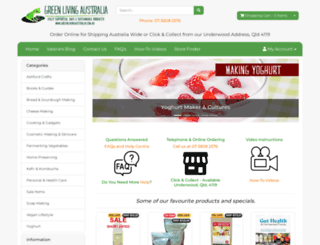greenlivingaustralia.com.au screenshot