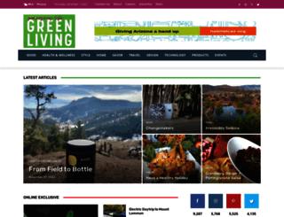 greenlivingaz.com screenshot
