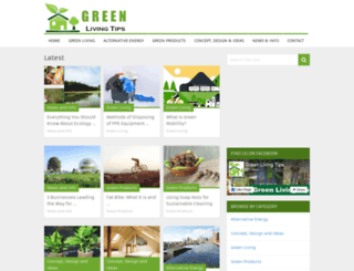 greenlivingtips.net screenshot