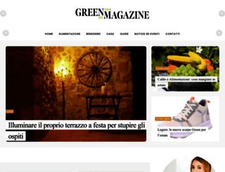 greenmagazine.it screenshot