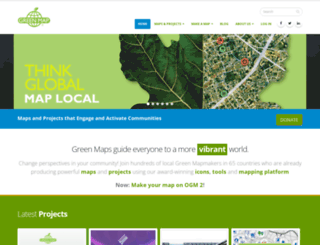 greenmap.org screenshot