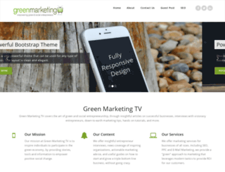 greenmarketing.tv screenshot