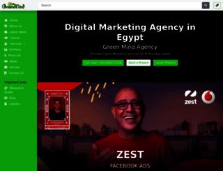 greenmindagency.com screenshot