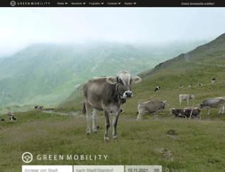 greenmobility.de screenshot