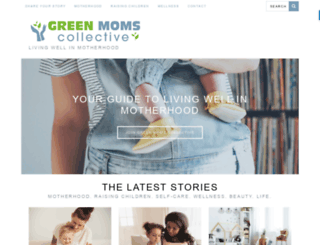 greenmomscollective.ca screenshot