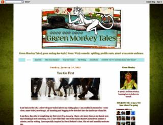 greenmonkeytales.blogspot.com screenshot