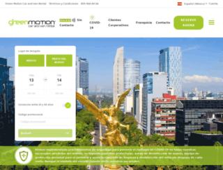 greenmotion.mx screenshot