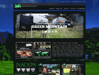 greenmountaingrills.mx screenshot