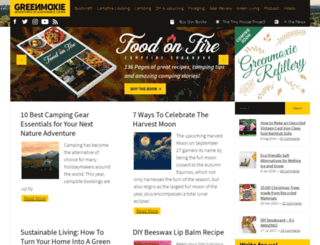 greenmoxie.com screenshot