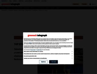 greenocktelegraph.co.uk screenshot