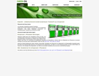 greenoil.ch screenshot