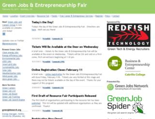 greenopportunitiesfair.com screenshot