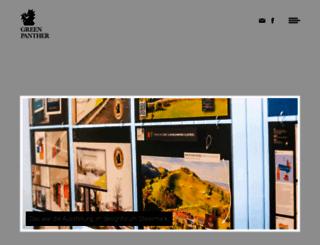 greenpanther.at screenshot