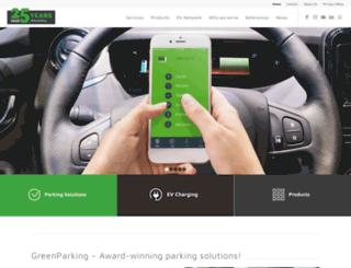 greenparking-europe.de screenshot