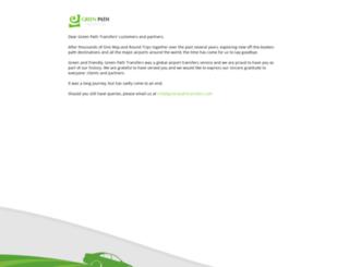 greenpathtransfers.com screenshot