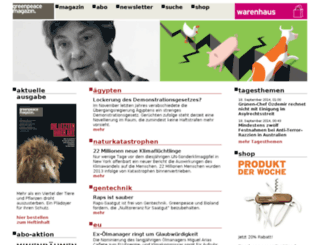 greenpeacemagazin.de screenshot