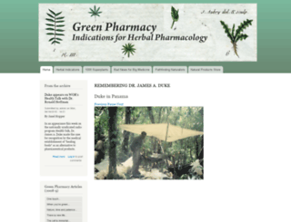 greenpharmacy.com screenshot